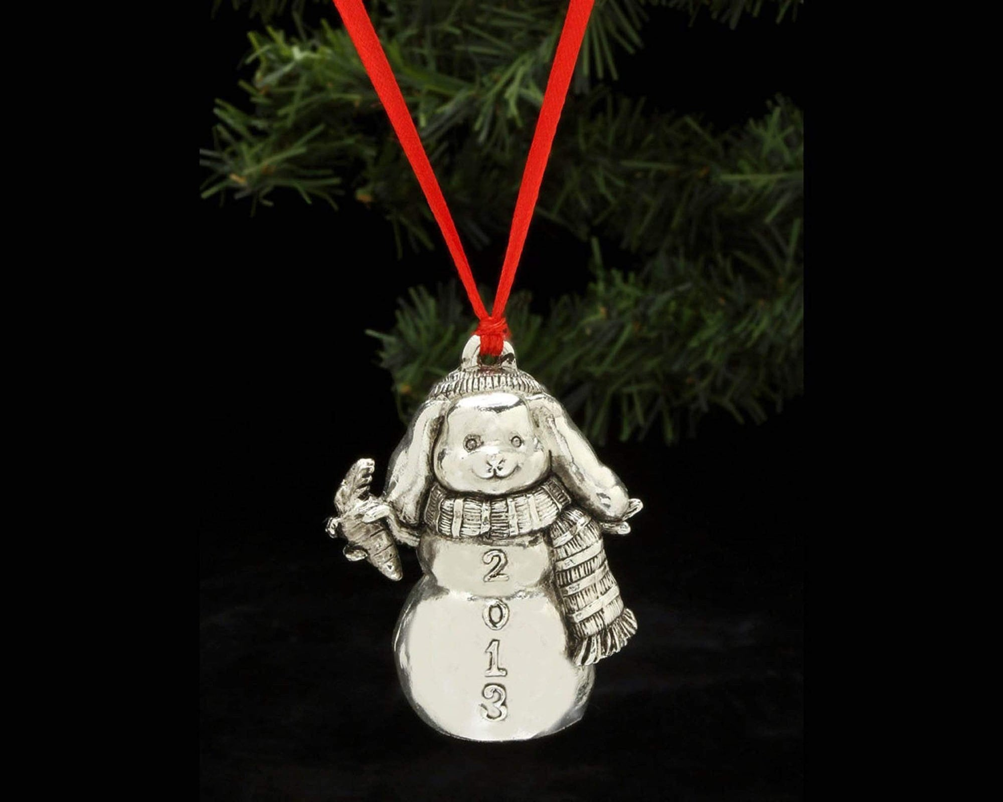 Arthur Court Holidays 2020 Home Sweet Home Bunny Bunny Annual Christmas Ornament