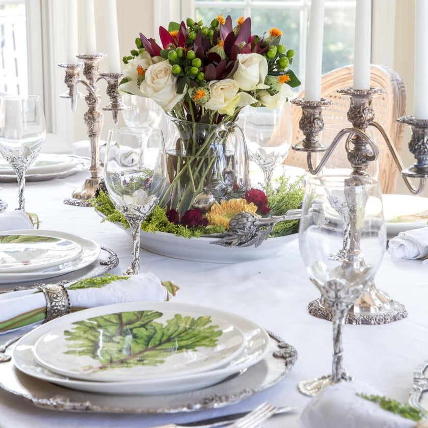 Grape harvest tablescape