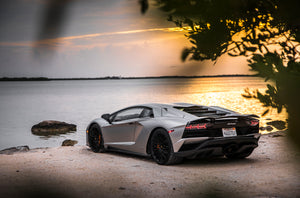 Aventador S Florida Sunset