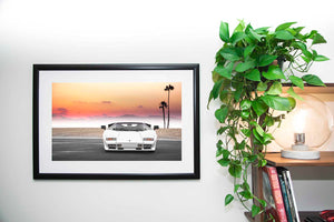 Countach Straight-On Fine Art Print
