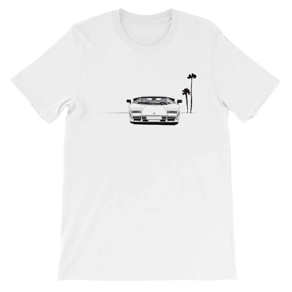 Black and White Countach T-Shirt