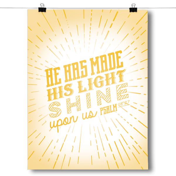 He Has Made his Light Shine - Psalm 118