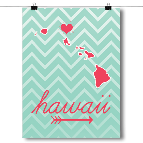 Hawaii State Chevron Pattern