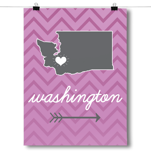 Washington State Chevron Pattern