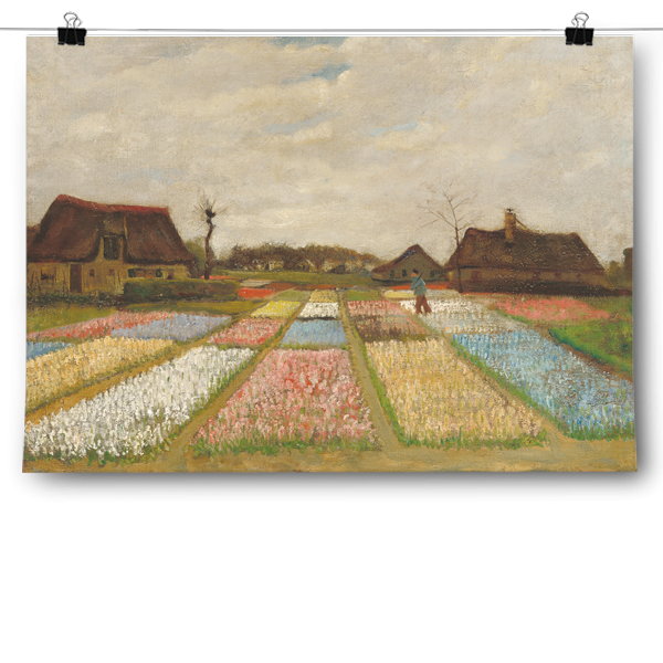 Vincent van Gogh - Flower Beds in Holland