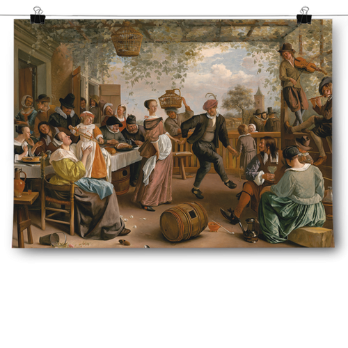 Jan Steen - The Dancing Couple