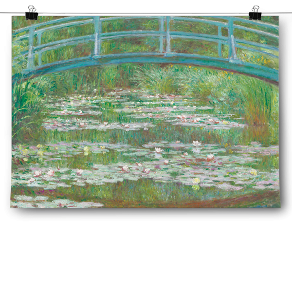 Claude Monet -The Japanese Footbridge