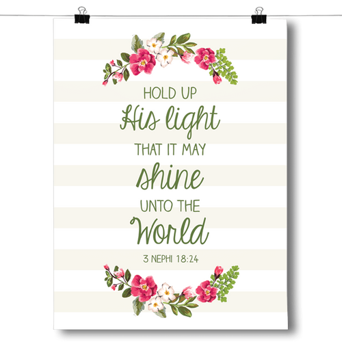 Hold up His Light - 3 Nephi