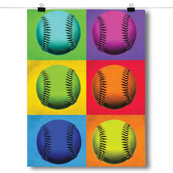 Pop Art - Baseball
