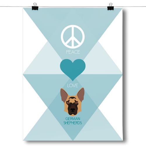 Peace, Love & German Shepherds