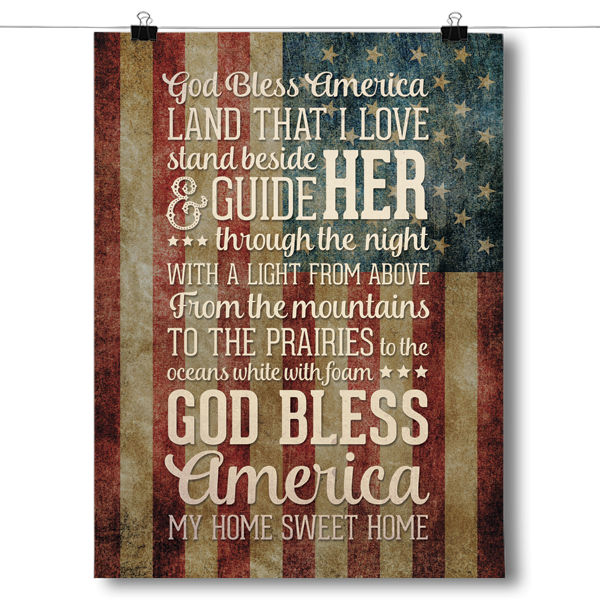 God Bless America - Home Sweet Home