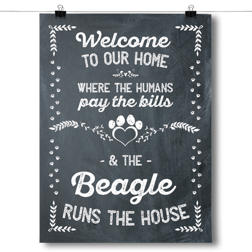 The Beagle Runs The House