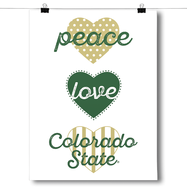 Peace, Love, Colorado State - NCAA