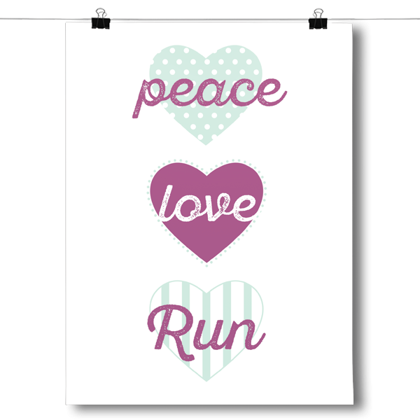 Peace, Love, Run