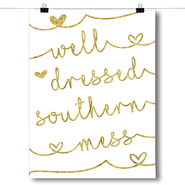 Well-Dressed Southern Mess