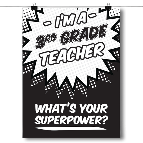 What's Your Superpower - 3rd Grade Teacher