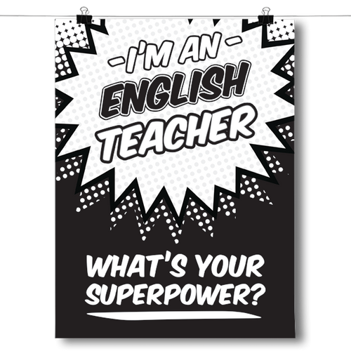 What's Your Superpower - English Teacher