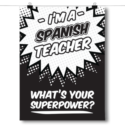 What's Your Superpower - Spanish Teacher
