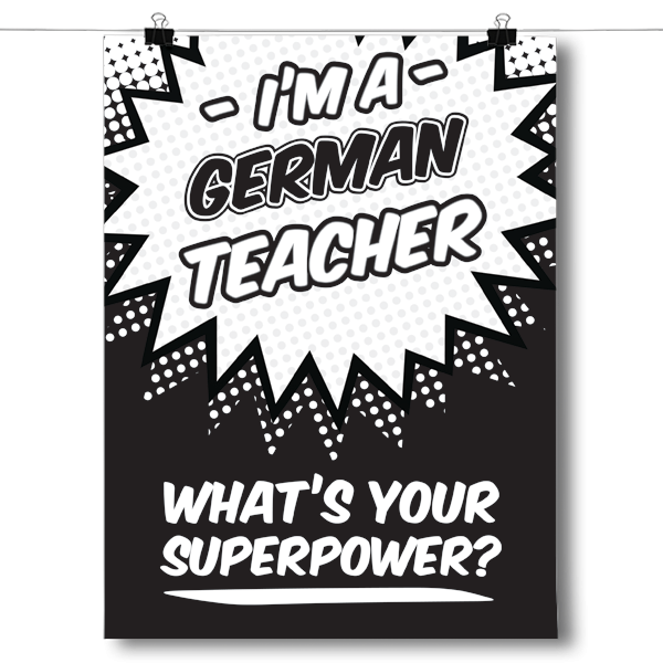 What's Your Superpower - German Teacher