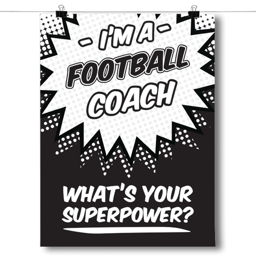 What's Your Superpower - Football Coach