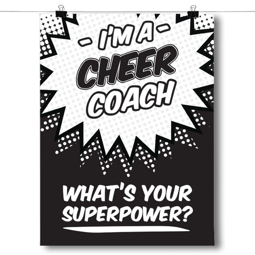 What's Your Superpower - Cheer Coach