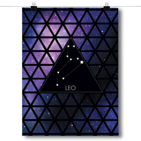 Zodiac Constellation - Leo