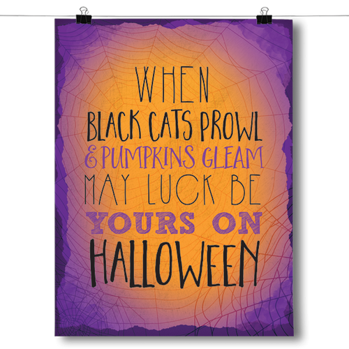 Black Cats Prowl and Pumpkins Gleam