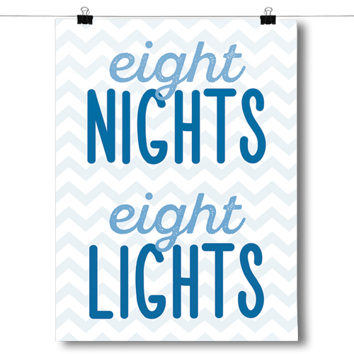 Eight Nights, Eight Lights - Hanukkah