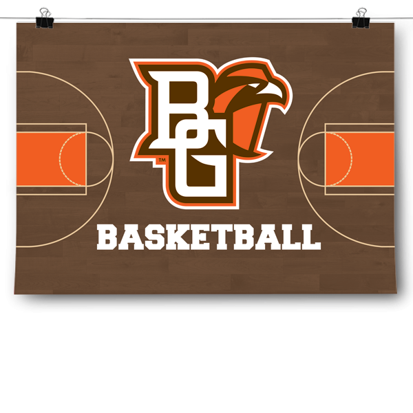 BGSU Falcons - Basketball Court