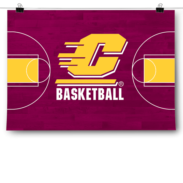 Central Michigan Chippewas - Basketball Court