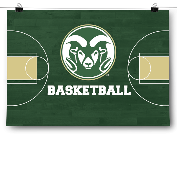Colorado State Rams - Basketball Court