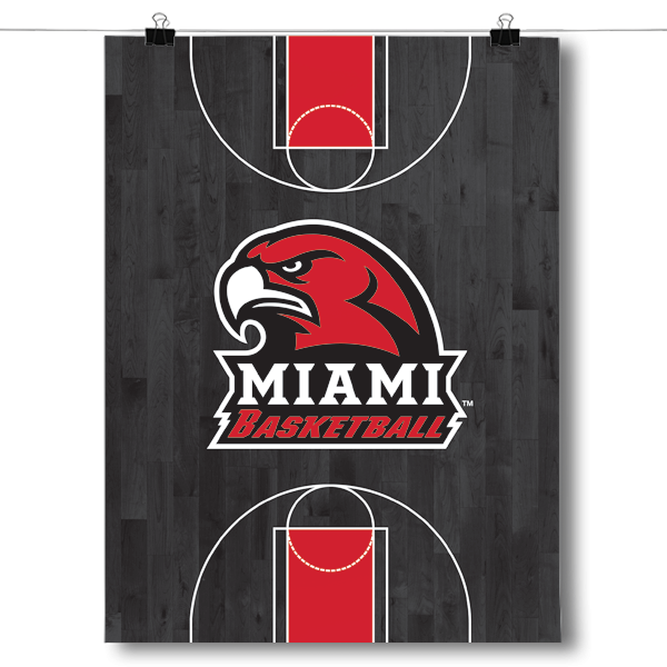 Miami University RedHawks - Basketball Court