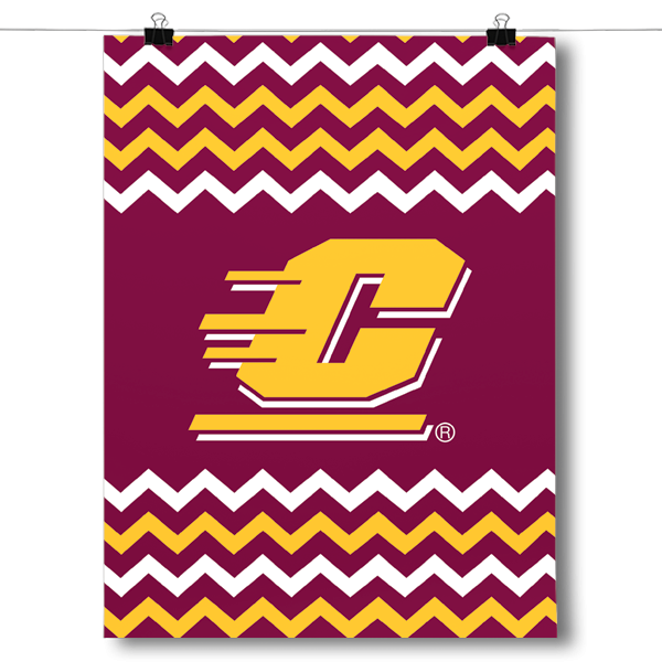Central Michigan Chippewas - Chevron