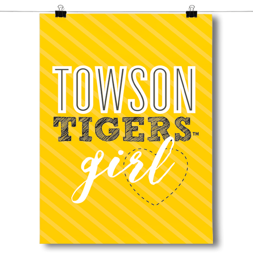Towson Tigers Girl