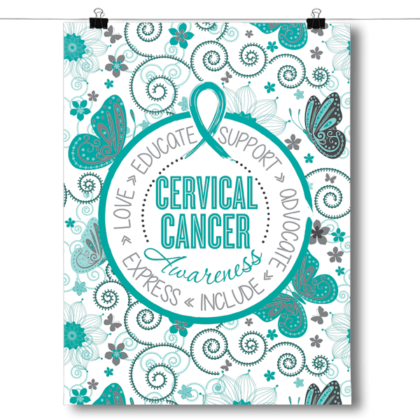 Cervical Cancer - Butterfly Pattern