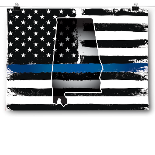 Thin Blue Line - Alabama