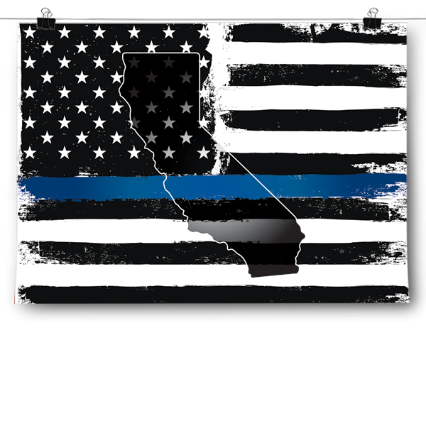 Thin Blue Line - California