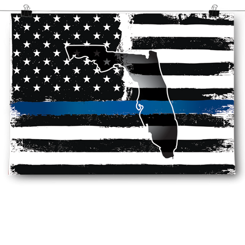 Thin Blue Line - Florida