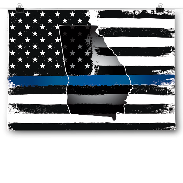 Thin Blue Line - Georgia