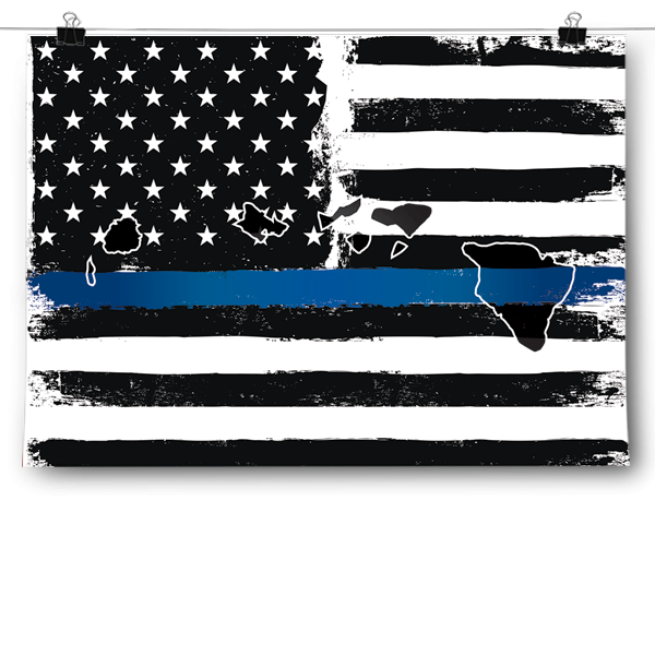 Thin Blue Line - Hawaii