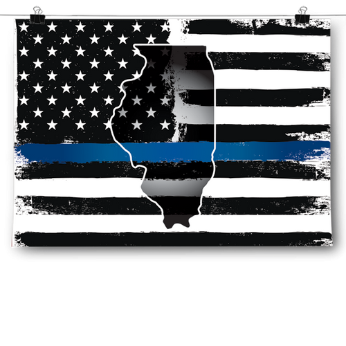 Thin Blue Line - Illinois