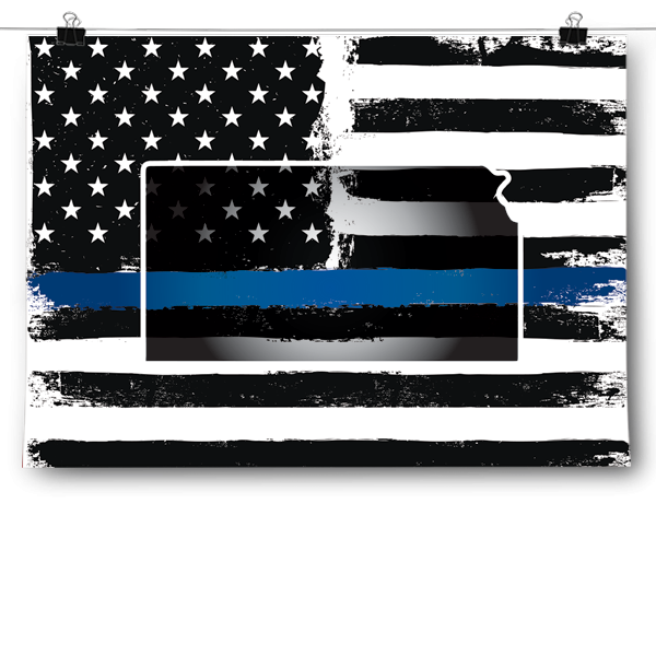 Thin Blue Line - Kansas