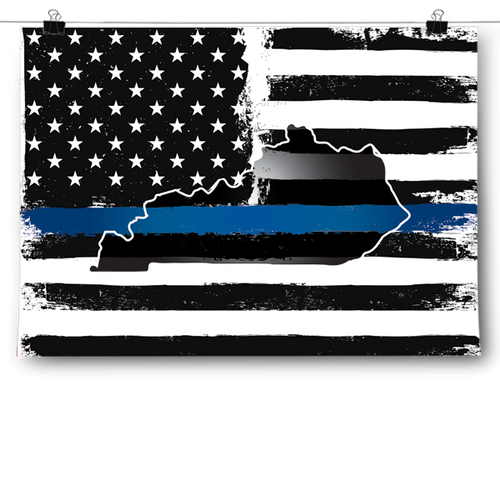 Thin Blue Line - Kentucky