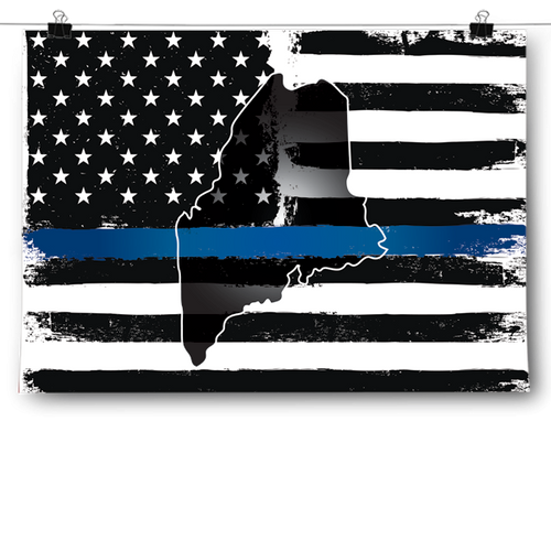 Thin Blue Line - Maine