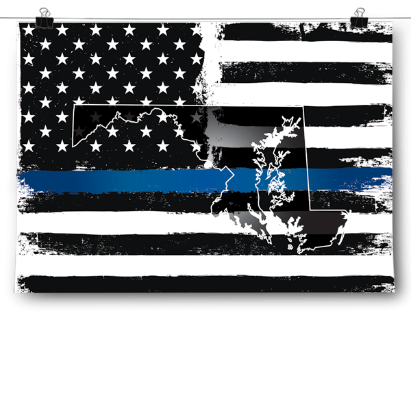 Thin Blue Line - Maryland