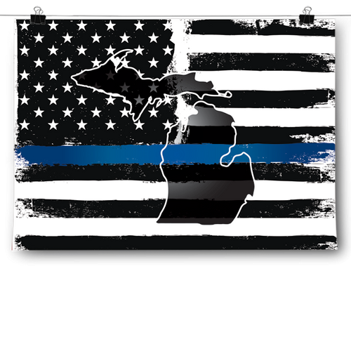 Thin Blue Line - Michigan