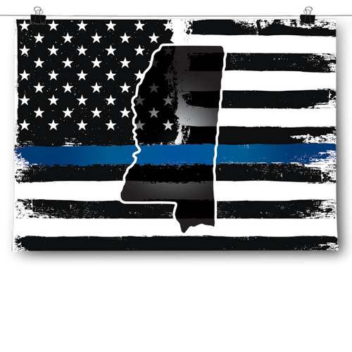 Thin Blue Line - Mississippi