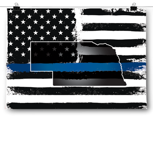 Thin Blue Line - Nebraska