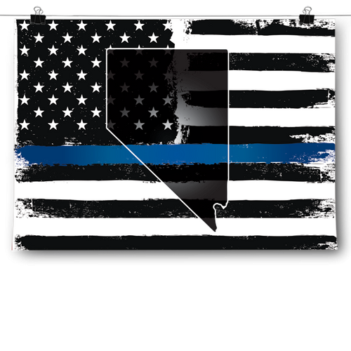 Thin Blue Line - Nevada