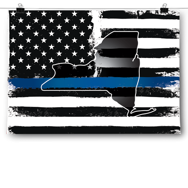Thin Blue Line - New York